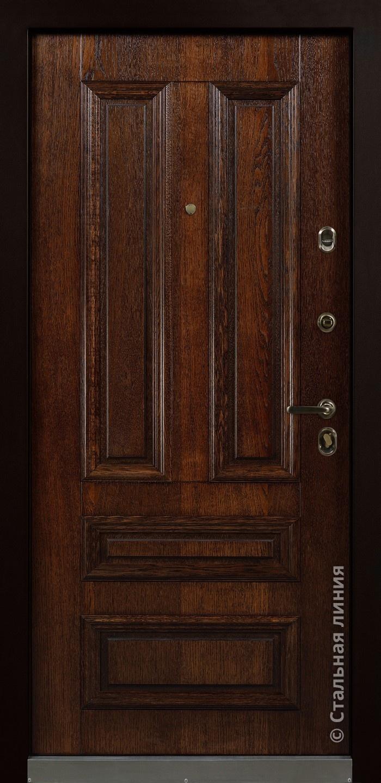 Входная дверь Рапсодия (Rapsodia) - Стальная линия