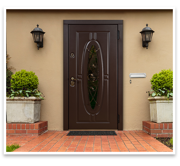 "Front door ""Monarch"" for the house now is available in new color"